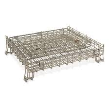 u s military surplus steel cage storage bin new 702422