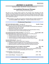 Resume Template Restaurant Manager Brilliant Bar Manager Resume Tips To Grab The Bar Manager Job