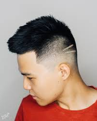 seattle barbers that do seahawk haircuts asian mid zero fade short top and simple lines haircut by