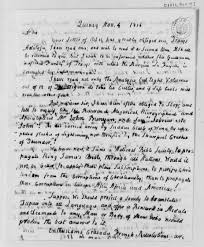 rational rant an annoying letter from john adams