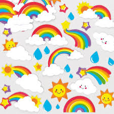 foam stickers rainbow sooo