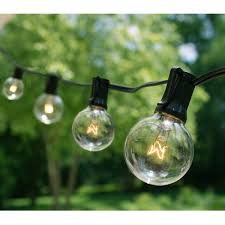 g40 string lights 25 ft g40 string lights with 25 globe lights plus 5 bulbs