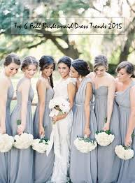 bridesmaid dresses 2015 top 6 bridesmaid dress trends for fall wedding 2015 tulle