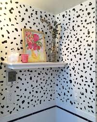 diy use removable wallpaper in your apartment glamour