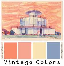68 best vintage color palettes images on pinterest vintage