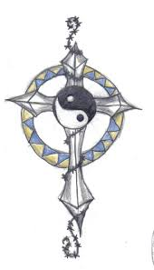 cross tattoo design by animal and anime lvr on deviantart