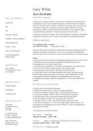 software developer resumes senior software developer resume