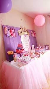 cute and girlish party with princess party decorations the