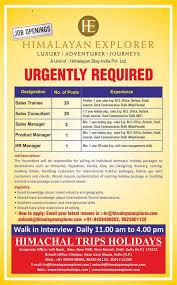 travel jobs images Vacancies jobs manali travel agencies jobs in manali hotels jpg