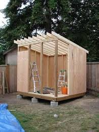 Free Diy Tool Shed Plans by How To Build A Lean To Shed Construction Backyard And Storage