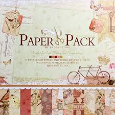 Scrapbook Paper Packs Eno Greeting 12 X12 Inch Decorative Card Scrapbooking Paper
