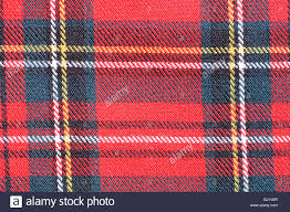 scottish plaid fabric closeup stock photo royalty free image