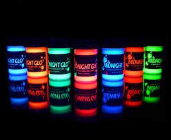 glow paint uv neon paint glow kit 7 bottles 75 oz