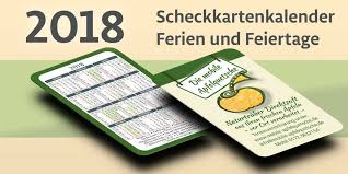 Kalender 2018 Hamburg Feiertage Scheckkartenkalender 2018 Scheckkartenkalender 2018 Ferien Und