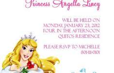 100 free princess invitation templates flowers frame free