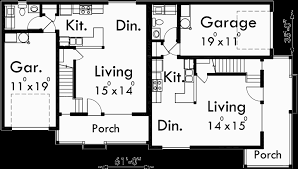 corner lot floor plans floor plan for d 505 corner lot duplex house plans 3 bedroom