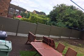 eco fencing moderner zaun aus alu pinterest garden fencing