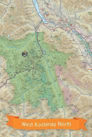 Wmu Map West Kootenay Bc Waterproof Map