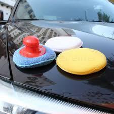 nettoyer si e voiture tissu 4 pcs ensemble voiture lavage de cire polonais pad éponge de