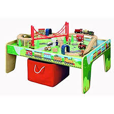 table top train set train tables for kids amazon co uk