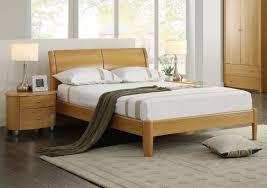 Beech Bed Frame Birlea Aztec Beech 4ft6 Wooden Bed Frame By Birlea