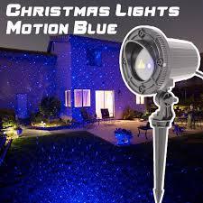 motion laser light projector christmas laser light projector outdoor blue motion showers garden