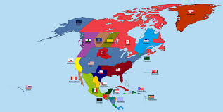 Map Of North America And Central America by Active Separatist Movements In North And Central America Vivid Maps