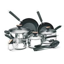 best black friday deals for cookware set best buy t fal 12 pc ultimate stainless steel copper bottom