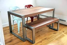 Diy Industrial Dining Room Table Dining Table Diy Rustic Industrial Dining Table Room Pipe