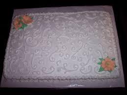 wedding sheet cake cakecentral com