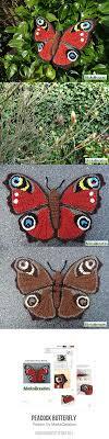peacock butterfly amigurumi pattern by miekscreaties amigurumi