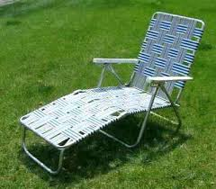 Vintage Aluminum Folding Chairs Used Chaise Lounge Chair U2013 Peerpower Co