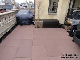 Deck To Patio Transition Unity Pavers Rubber Pavers Rooftops Patios Decks