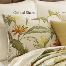 Bahama Bed Set by Tommy Bahama Birds Of Paradise Tropical Quilt Bedding