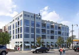 1545 west north breaks ground in noble square chicago architecture