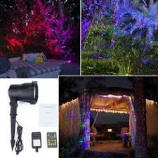 poeland garden projector light outdoor laser lights