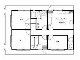 small guest house floor plans japanese house plan home design