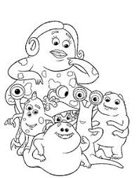 monsters coloring pages http east color monsters