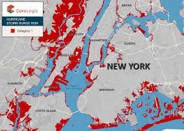 Brooklyn Zip Code Map Corelogic Top 25 Zip Codes In Nyc At Risk Of Property Damage From