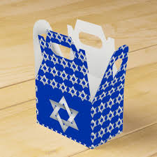 bar mitzvah favors of david favor box a favor box filled with of david this