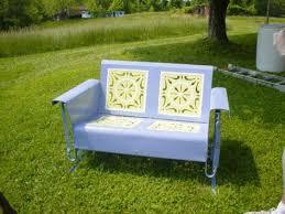 Vintage Patio Furniture Metal by 50 Best Vintage Metal Gliders Images On Pinterest Outdoor