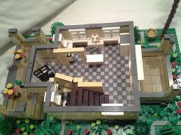 Lego House Floor Plan Moc My First Modular Building House Lego Town Eurobricks Forums