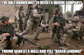 Funny Marine Memes - old navy joke marines rock thank you to all those who serve