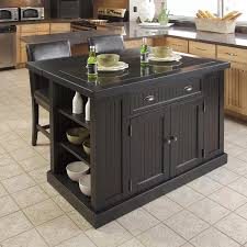 kitchen island cabinet base only home styles black wood base with granite top kitchen island 37 in x 48 in x 36 25 in