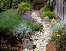 dry creek gallery drainage design ideas using dry creeks to