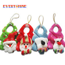 new year 1pcs mini santa claus snowman drop pendants gifts
