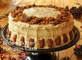 brown butter pumpkin cake recipe thebakingpan
