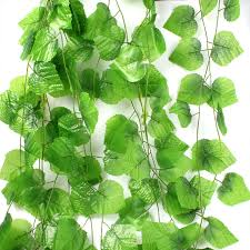 ivy home decor 7 7ft artificial ivy leaf garland plants vine fake foliage flowers