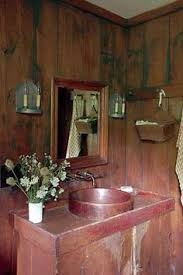 Central Kentucky Log Cabin Primitive Kitchen Eclectic Kitchen Louisville By The - beautiful prim bathroom from david t smith kentucky log cabin