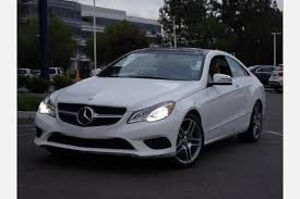 mercedes e class coupe 2015 used 2015 mercedes e class coupe pricing for sale edmunds